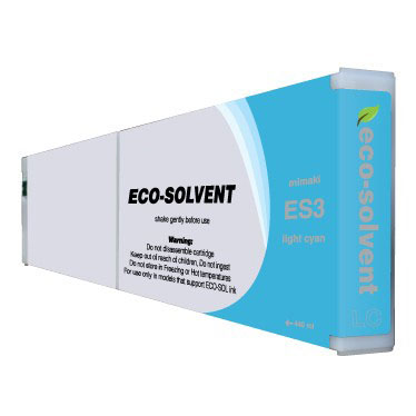 Premium Quality Light Cyan Eco Solvent Ink compatible with Mimaki ES3 LC-440