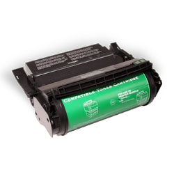 Premium Quality Black Toner Cartridge compatible with Lexmark 12A5745