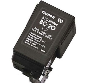 Premium Quality Black Inkjet Cartridge compatible with Canon 0895A003AA (BC-20)
