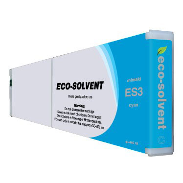 Premium Quality Cyan Eco Solvent Ink compatible with Mimaki ES3 CY-440
